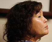 Dec. 4, 2009 - Defendant Helen Pedrino during her bail hearing in December 20009 at the Hall of Justice in Riverside. File Photo Hayne Palmour IV (Credit Image: © U-T San Diego/ZUMA Wire) -Stock Image- E5EAB4