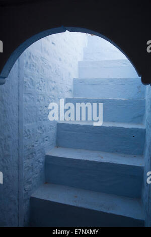 India, stair, Asia, detail, architecture, light, white,