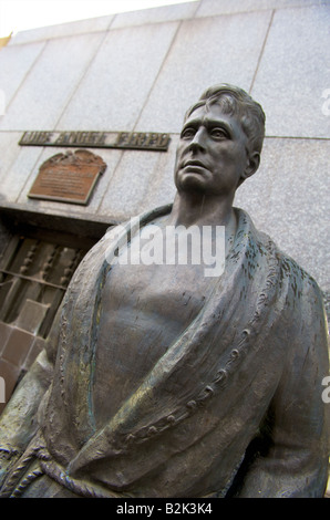 Statue of boxer Luis Angel Firpo at Recoleta Cemetery, Buenos Aires, Argentina