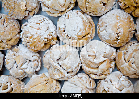 schneeballen snowball pastry a traditional german christmas food rothenburg germany