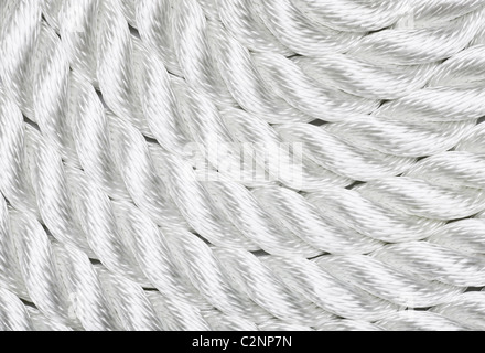 Close-up of a white rope