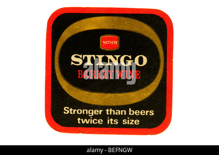 watneys stingo barley wine stronger than beers twice its size