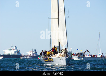 Barcolana - the world's most crowded regatta, Guinness Book of Records since 1999,take place in Gulf of Trieste.