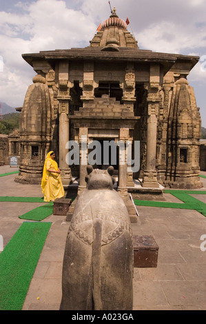 Baijnath or Bajinath Mahadev Hindu Shiva temple in Himachal Pradesh India