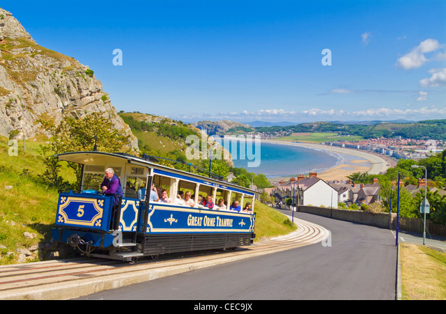 blue-carriage-of-a-tram-on-the-great-orm