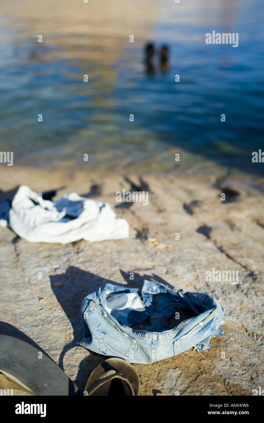 Skinny Dipping Stock Photo - Image: 149950