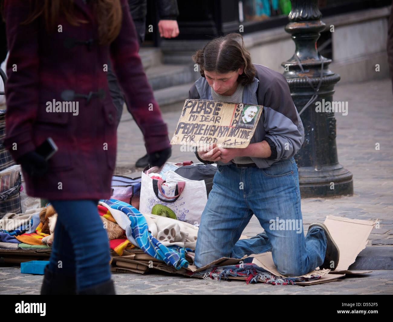 dating online begging for money