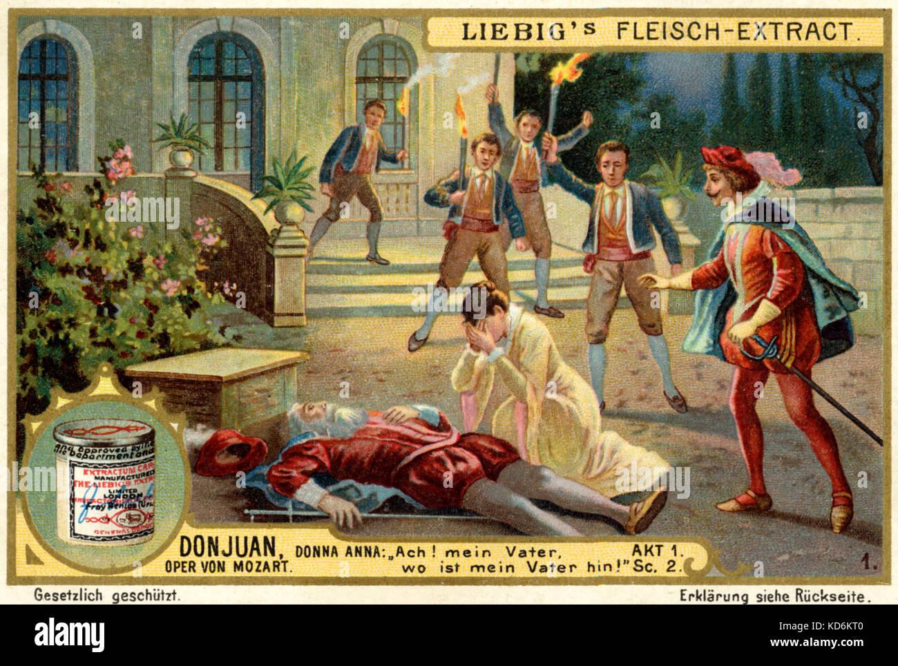 Wolfang Amadeus Mozart opera Don Juan ( Don Giovanni