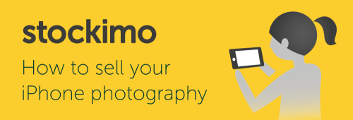 Sell your iPhone photos using stockimo app