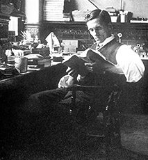 Alexander Fleming, 1908 Photo Stock