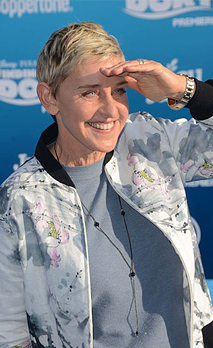 Hollywood, CA, USA. 8th June, 2016. 08 June 2016 - Hollywood. Ellen DeGeneres. Arrivals for the World Premiere Of - Stock Photo