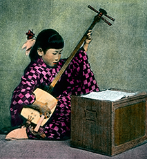 Eine fnfstckige Pagode erhebt sich in Japan.  Asia, Japan, Asiatic, travel, 1910s, 1920s, 20th century, archive, - Stock Photo