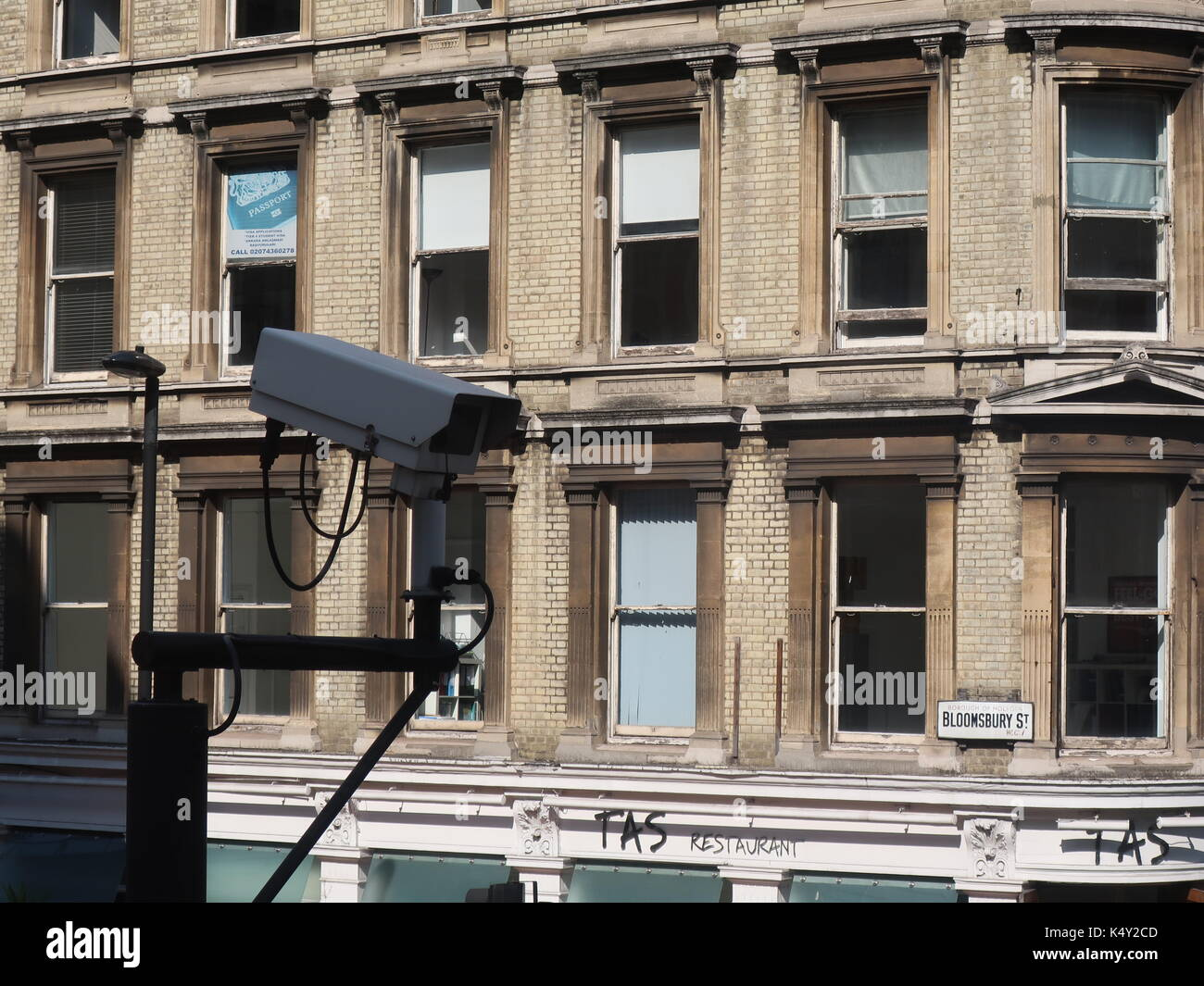 cctv-camera-outside-the-bloomsbury-stree